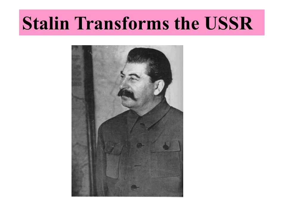 an analysis of joseph stalins impact on the soviet union