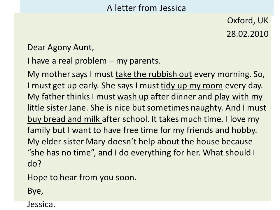 Aunt has a problem - 2 part 2
