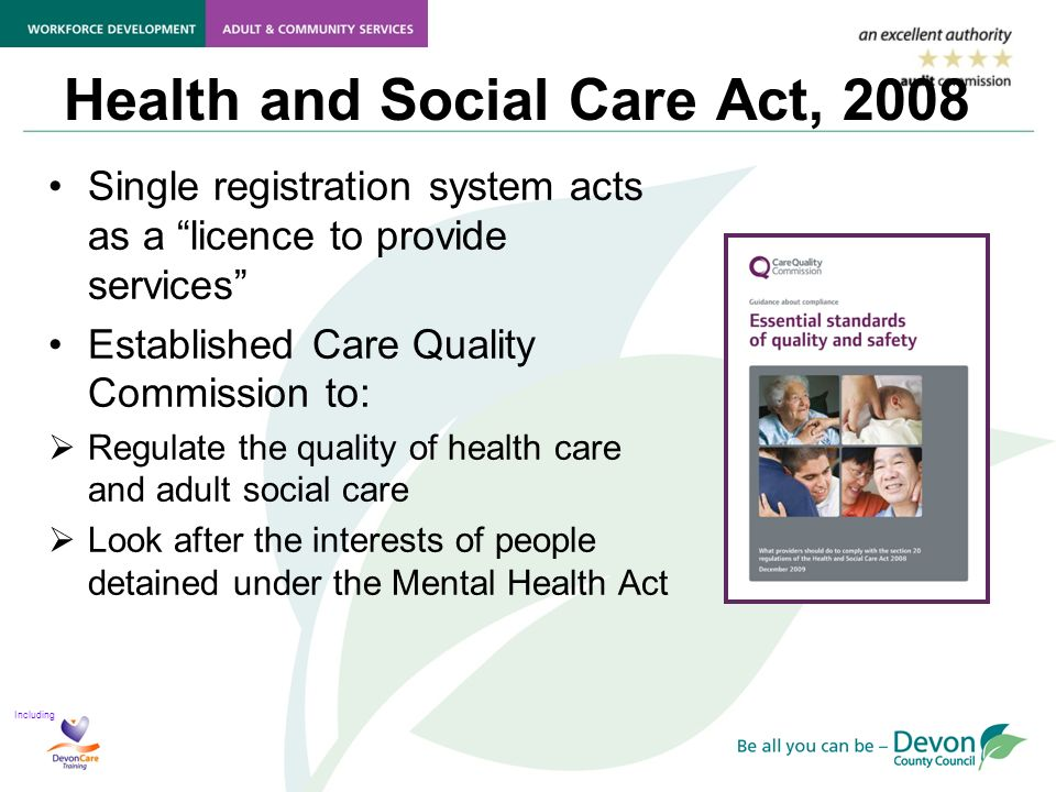 service quality standards in health and social care The quality of directorate services is assured (including, for example, social work practice, in-house day care service provision, commissioning activity and back office functions.