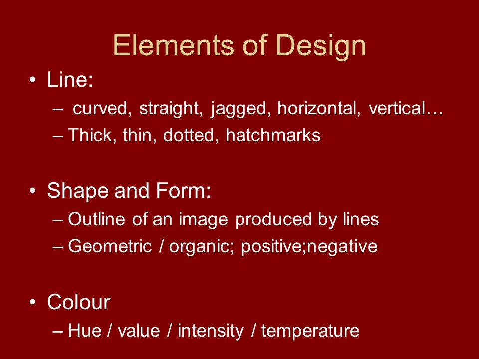 Elements Of Design Shape And Form : Visual art activity hummingbird and haida ppt download