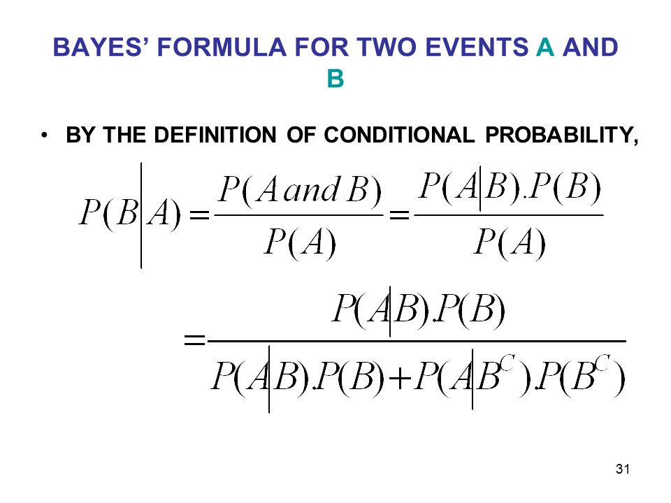 Probability Probability Rules And Conditional