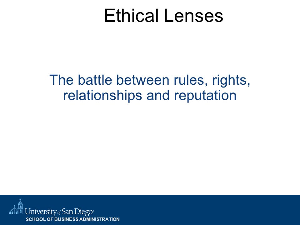 the relationship between business ethics and Another type of ethical relationship is that between the student at an institution and  in the genesis of ethics, 1997, applied the relationship approach to ethics.