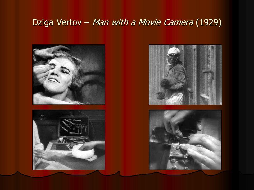 vertov man with a movie camera essay In 1929, ukrainian filmmaker dziga vertov made the groundbreaking man with a movie camera documentary–a visual essay on life between the two world wars.