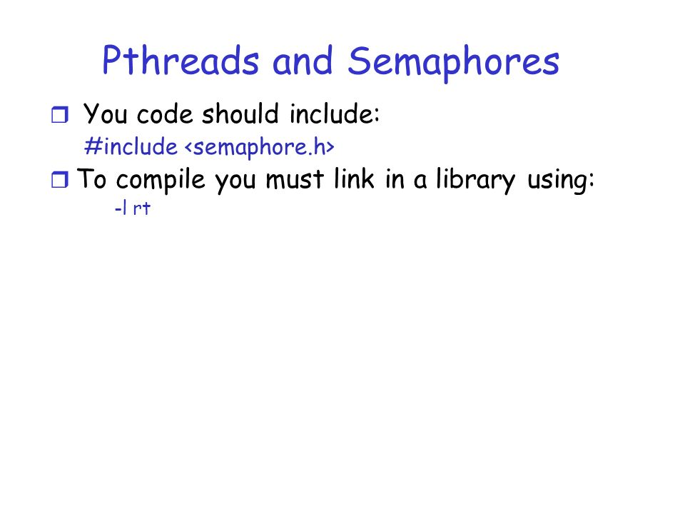 Thread management done by user level threads library Three primary thread  libraries  POSIX Pthreads Win   threads Java threads Kernel Threads  Supported by