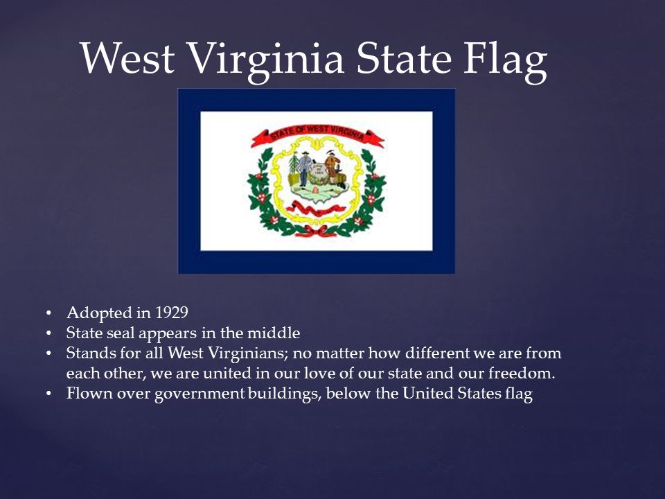 Wv state law on dating
