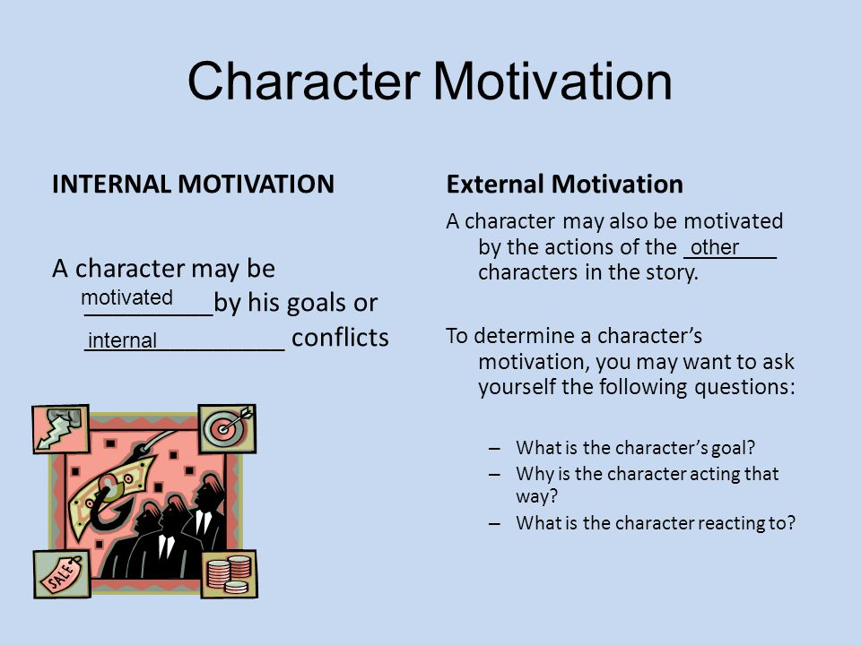 an analysis of the internal motivation The first is a classic meta-analysis by edward deci and colleagues the authors synthesized the results from 128 controlled experiments the results highlighted consistent negative effects of incentives — from marshmallows to dollars — on intrinsic motivation these effects were particularly strong when.