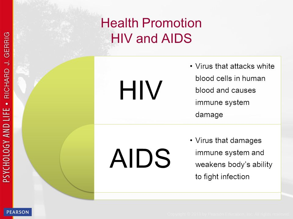health promotion and hiv Human immunodeficiency virus (hiv) the us department of health and human services' office of disease prevention and health promotion developed this tool with.