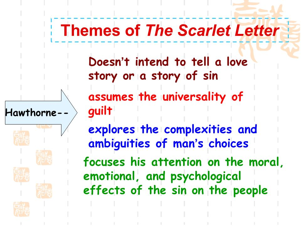 the scarlet letter. - ppt video online download