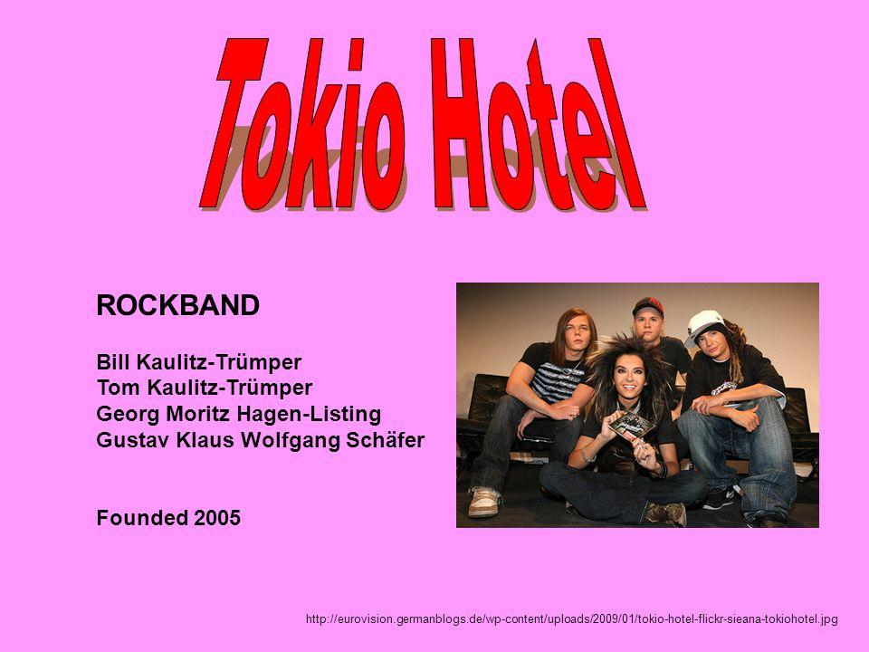 Tokio Hotel ROCKBAND Bill Kaulitz-Trümper Tom Kaulitz-Trümper