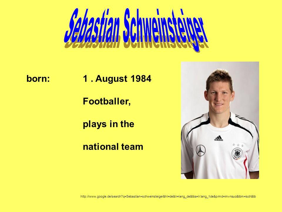 Sebastian Schweinsteiger