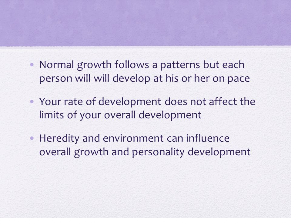 how does heredity and the environment affect growth and development of a child Environmental influences on child development the prenatal environment: • the chemical balance of the mother's body and the presence of.