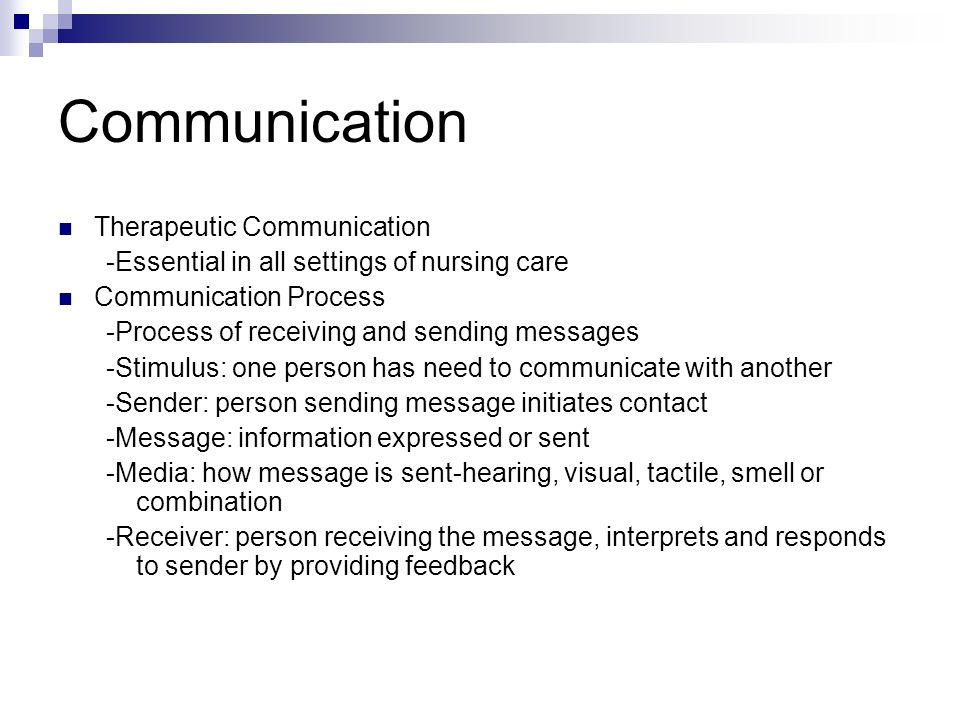 in nursing communication is essential Good communication between nurses and patients is essential for the successful outcome of individualized nursing care of each patient to achieve this, however, nurses must understand and help their patients, demonstrating courtesy, kindness and sincerity also they should devote time to the patient to.