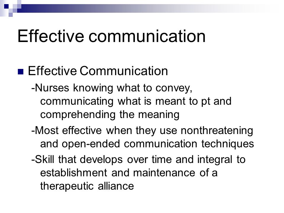 effective communication in nursing Transforming nursing practice – titles in the series communication and interpersonal skills for nurses isbn 978 1 84445 162 3 4 safe and effective practice 61.