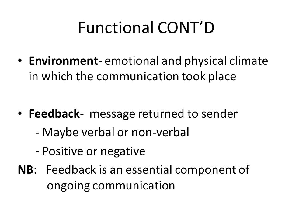 interpersonal communication communication climate for emotional tone of relationships Effective communication skills:  body language/tone of voice communication is more than the words we choose to  interpersonal communication programs, inc.