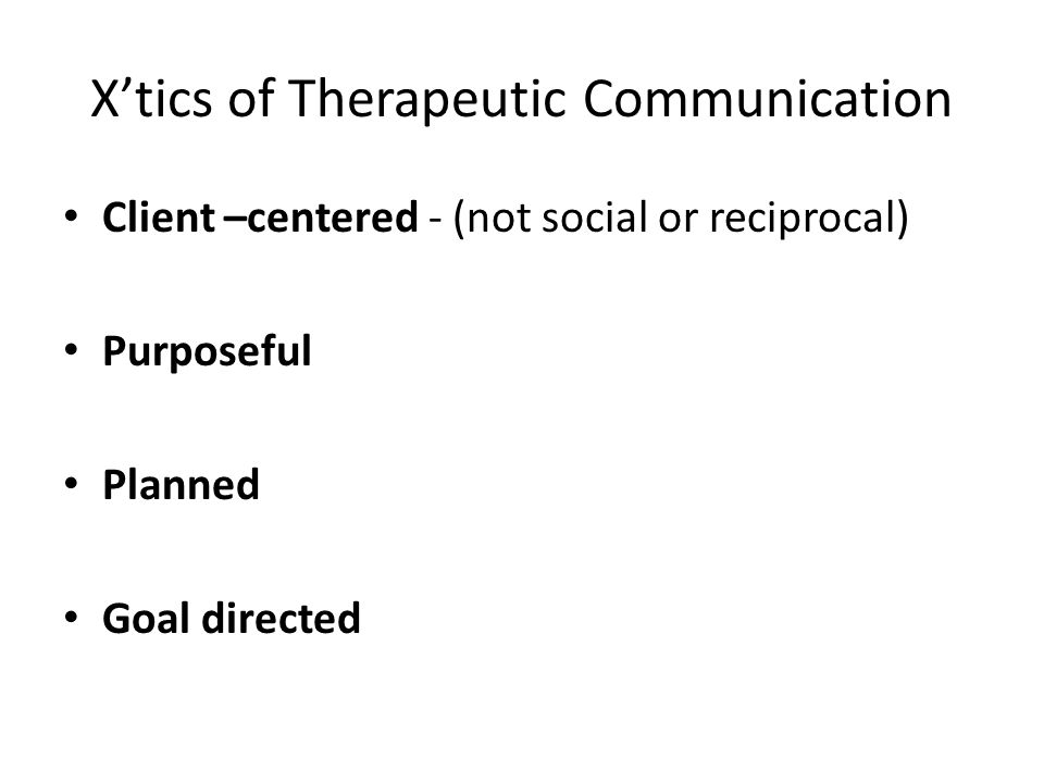 how to respond to non effective communication in nursing