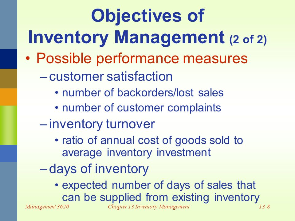 online sales and inventory chapter 1 Start studying ita chapter 1  apple computer dominates the online legal music sales industry primarily  such as transportation and inventory.