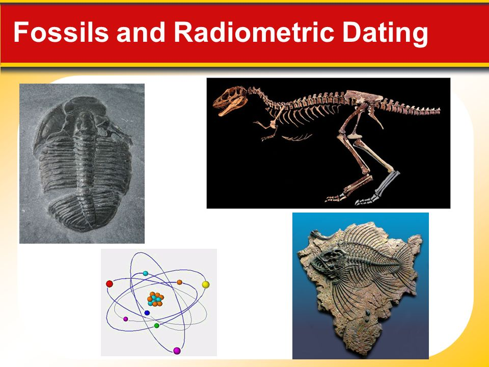 2 types of fossil dating