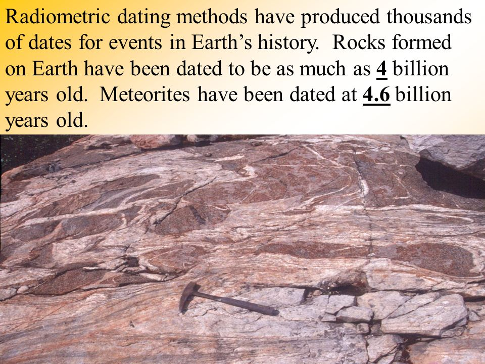 radiometric dating with fossils These observations give us confidence that radiometric dating is not trustworthy evolution places severe demands upon fossils used to support it.