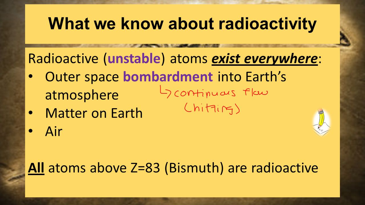 Half life carbon dating pg ppt download what we know about radioactivity gamestrikefo Choice Image