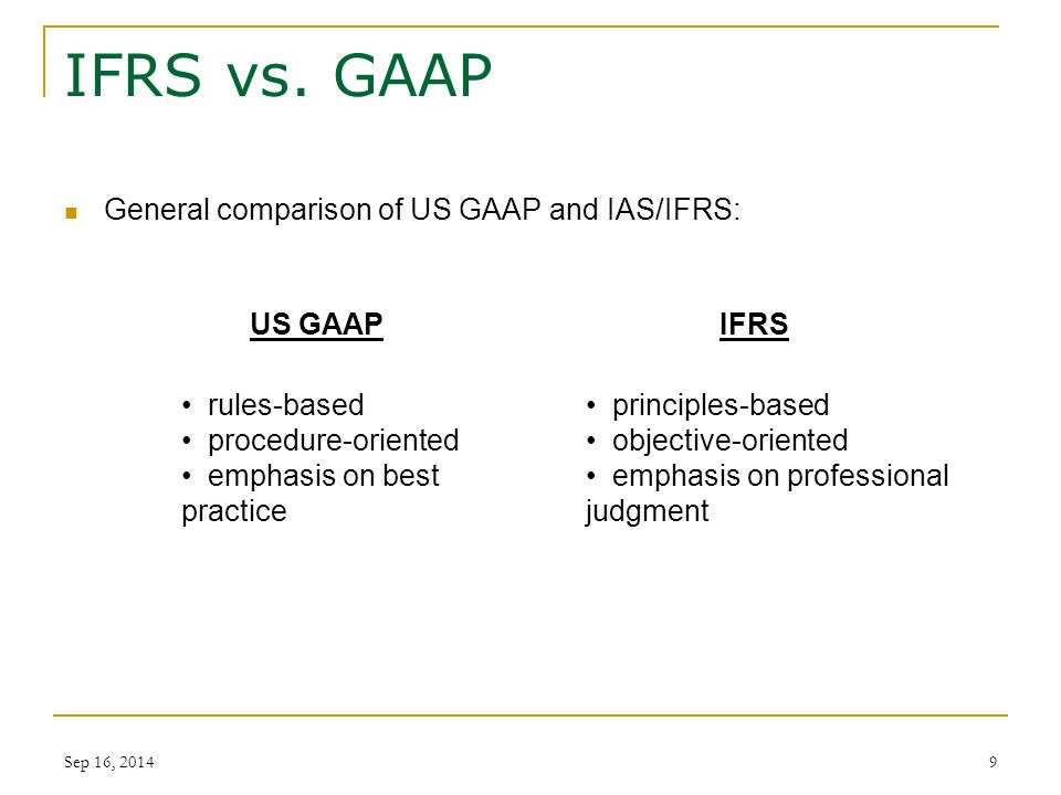 comparison ifrs and gaap Are pleased to publish the 2015 edition of our comparison of ifrs and us gaap  ifrs compared to us gaap: an overview ifrs us home ifrs `.