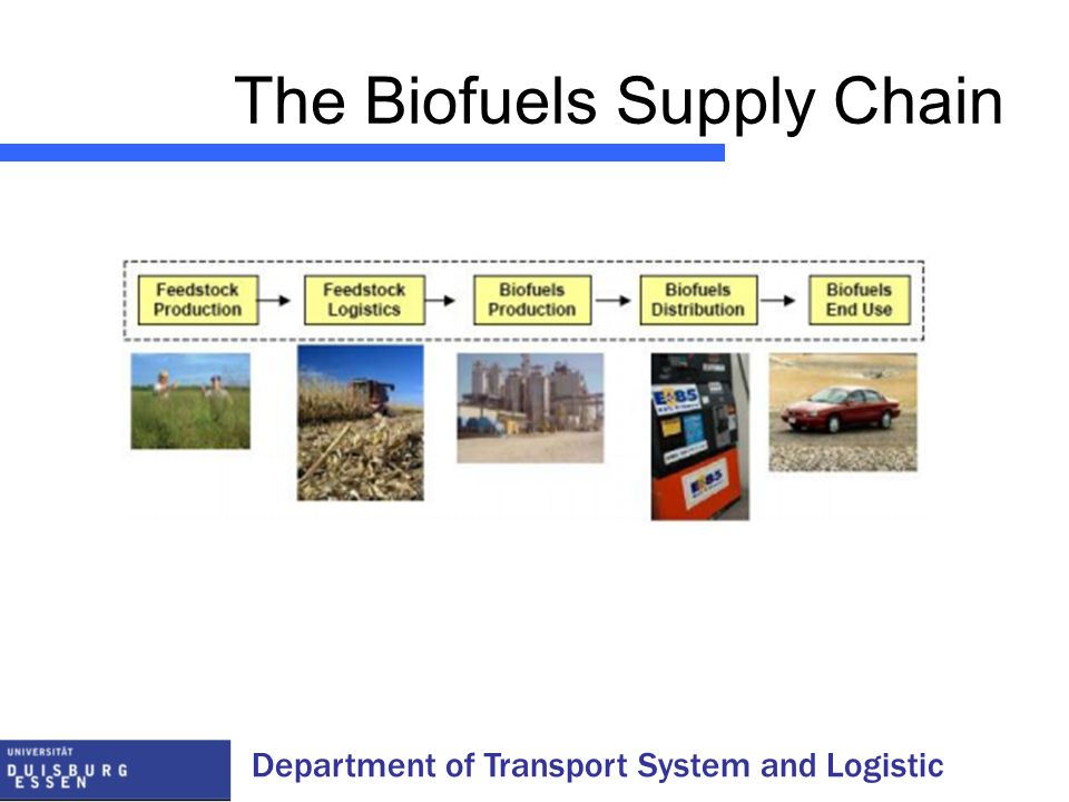 The Biofuels Supply Chain