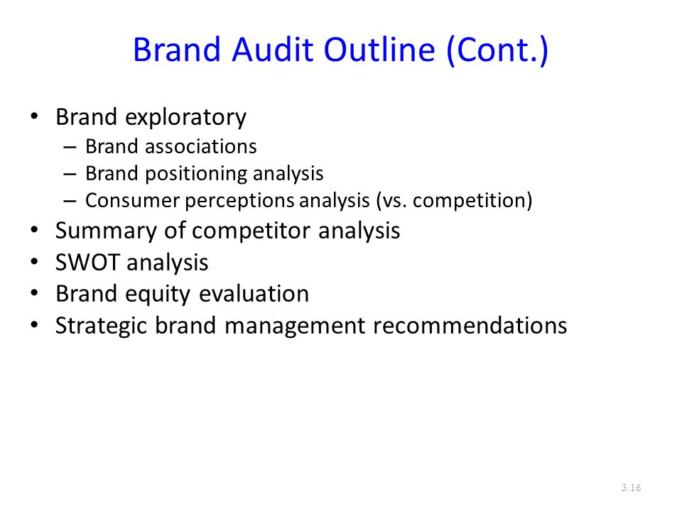 Consumer behavior audit overview of dry