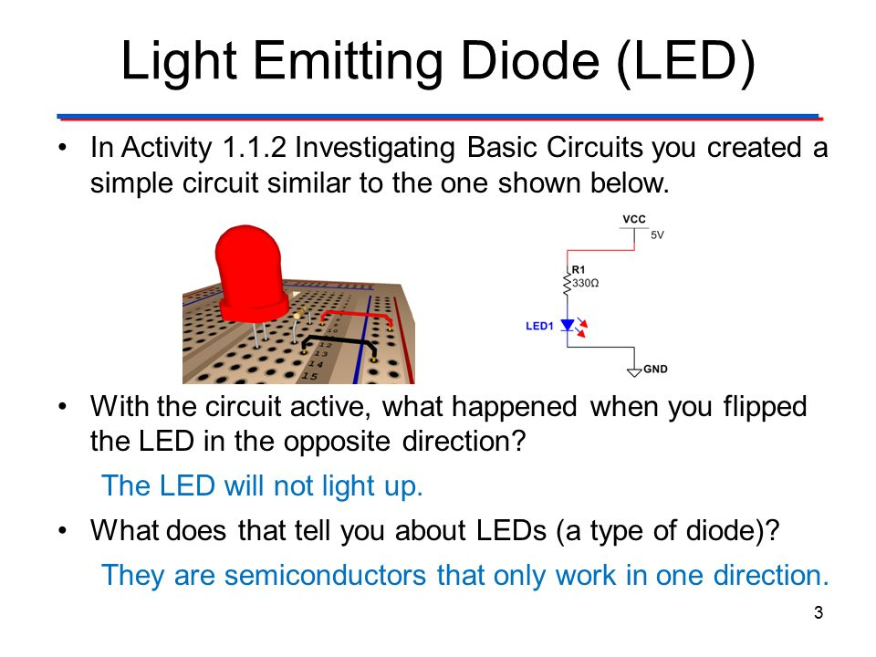 Investigating Basic Circuits Post-Activity Discussion ...