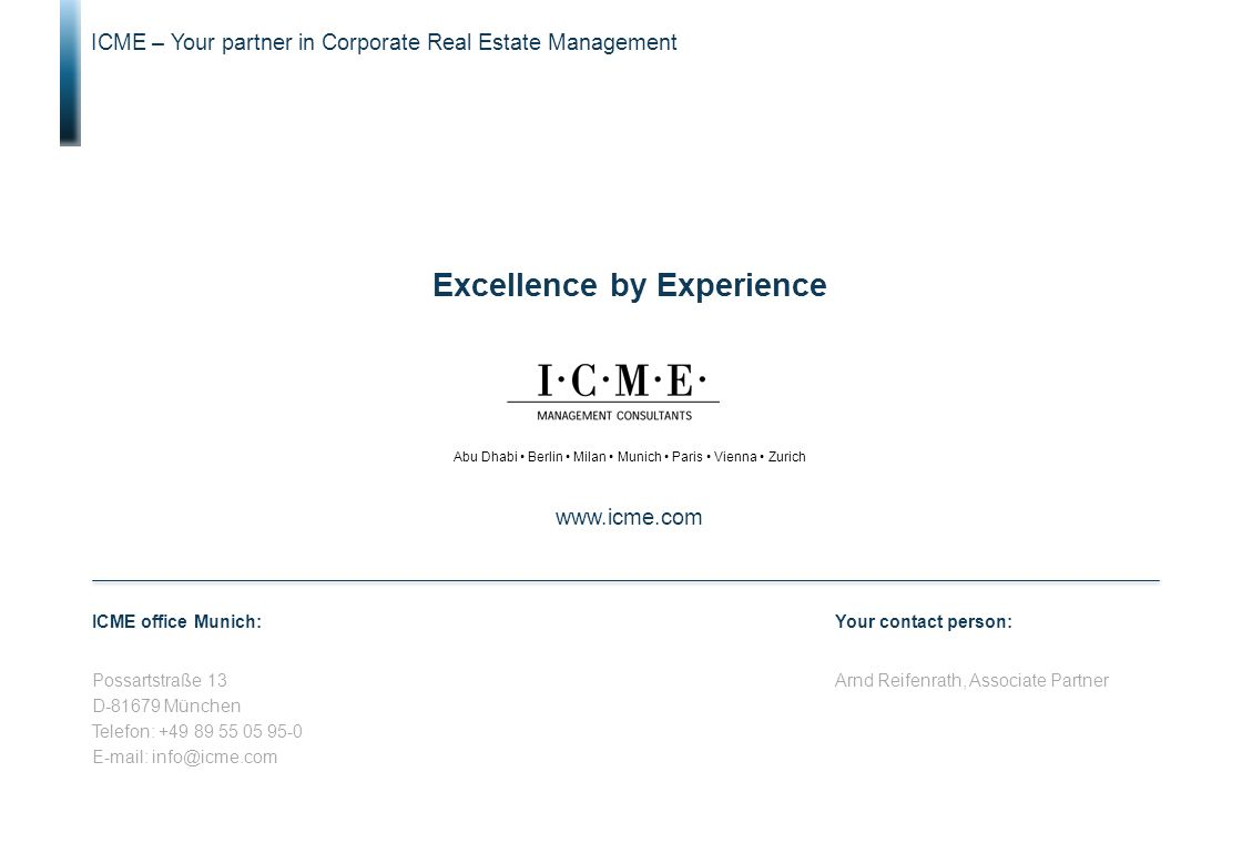 Excellence by Experience