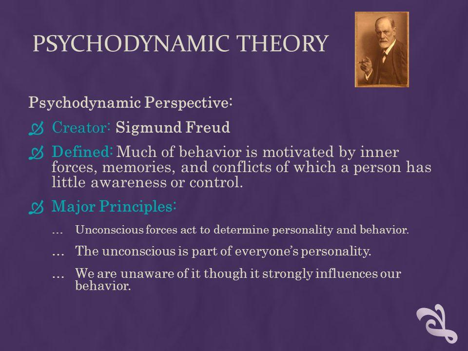 what is psychodynamic theory pdf