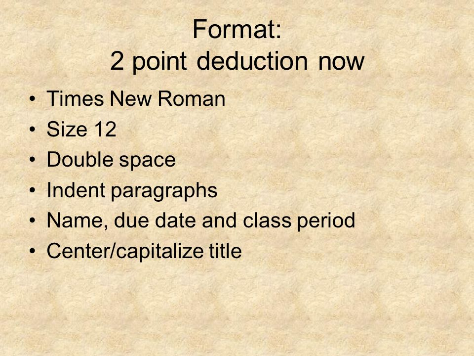 deduction paragraph Learn about the paragraph form and how to construct a paragraph find out how the paragraph form is similar to the essay form, then take a quiz to.