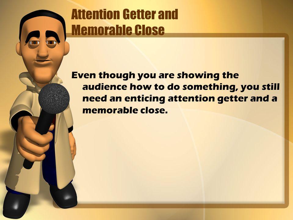 attention getter for informative speech