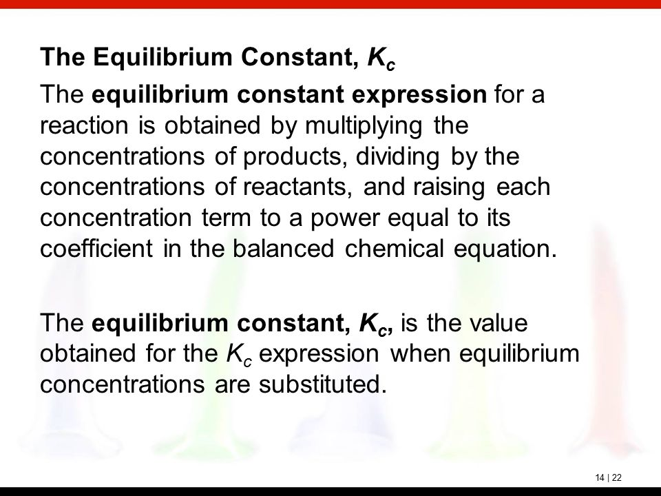 chemical reaction and equilibrium expression Unit 4 chemical systems and equilibrium solutions to chapter 7 chemical equilibrium  write the equilibrium constant expression for the reaction at 200°c.