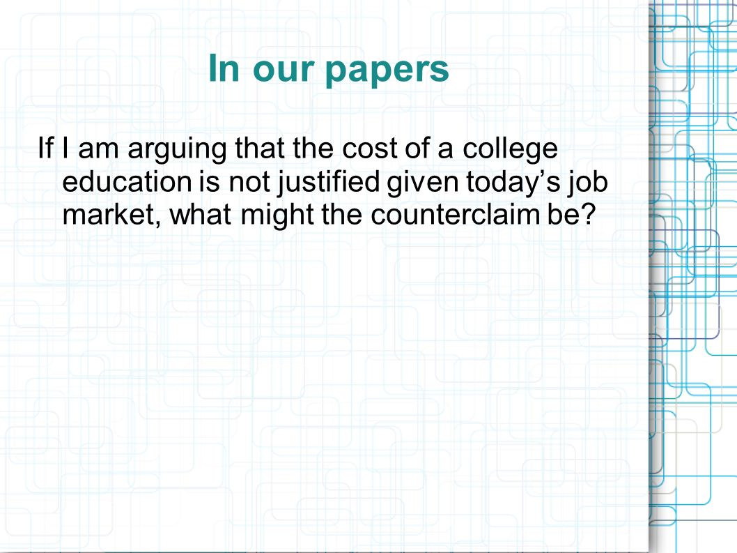 high cost of education essay The cost of high school is not the same as the a comparison of high school and term papers: post-secondary education and college in the schools.
