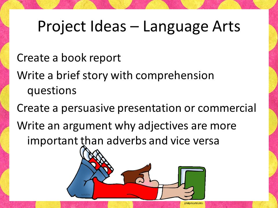 language arts book report A metaphor plot characters and theme which many students have come to know and hate good examples of descriptive language etc a favorite quote with an illustration science concepts in addition to items inside the bag that represent the main idea(s) from the poem you could also use this.