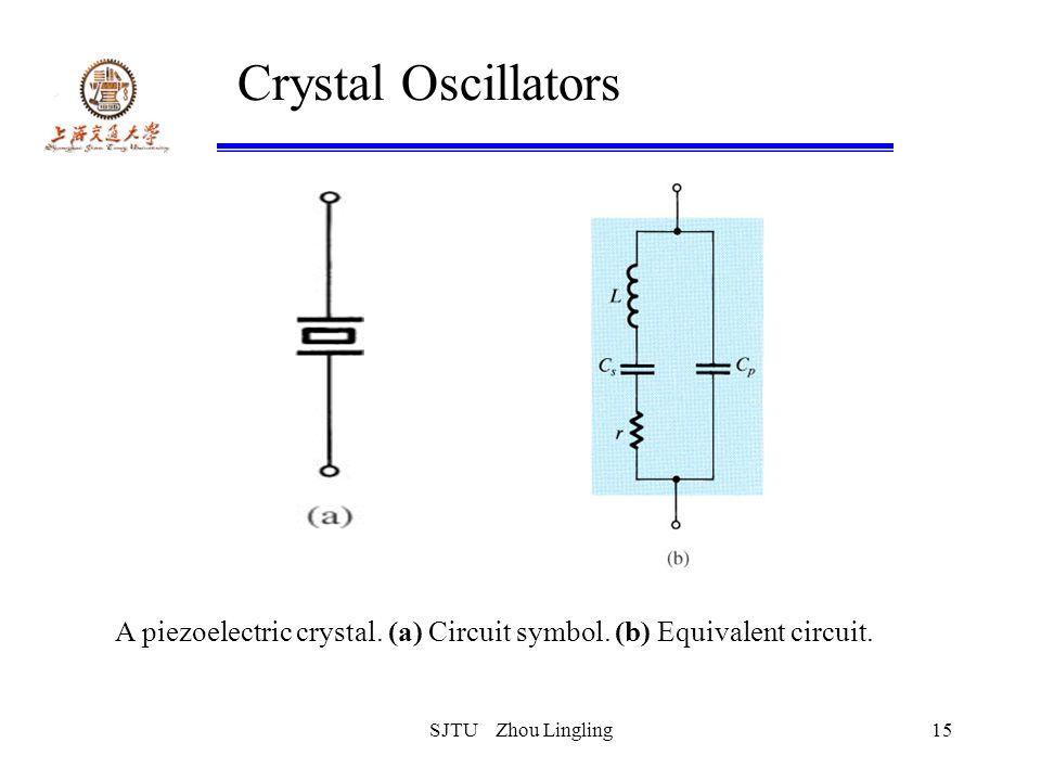 Crystal Oscillator Schematic Symbol