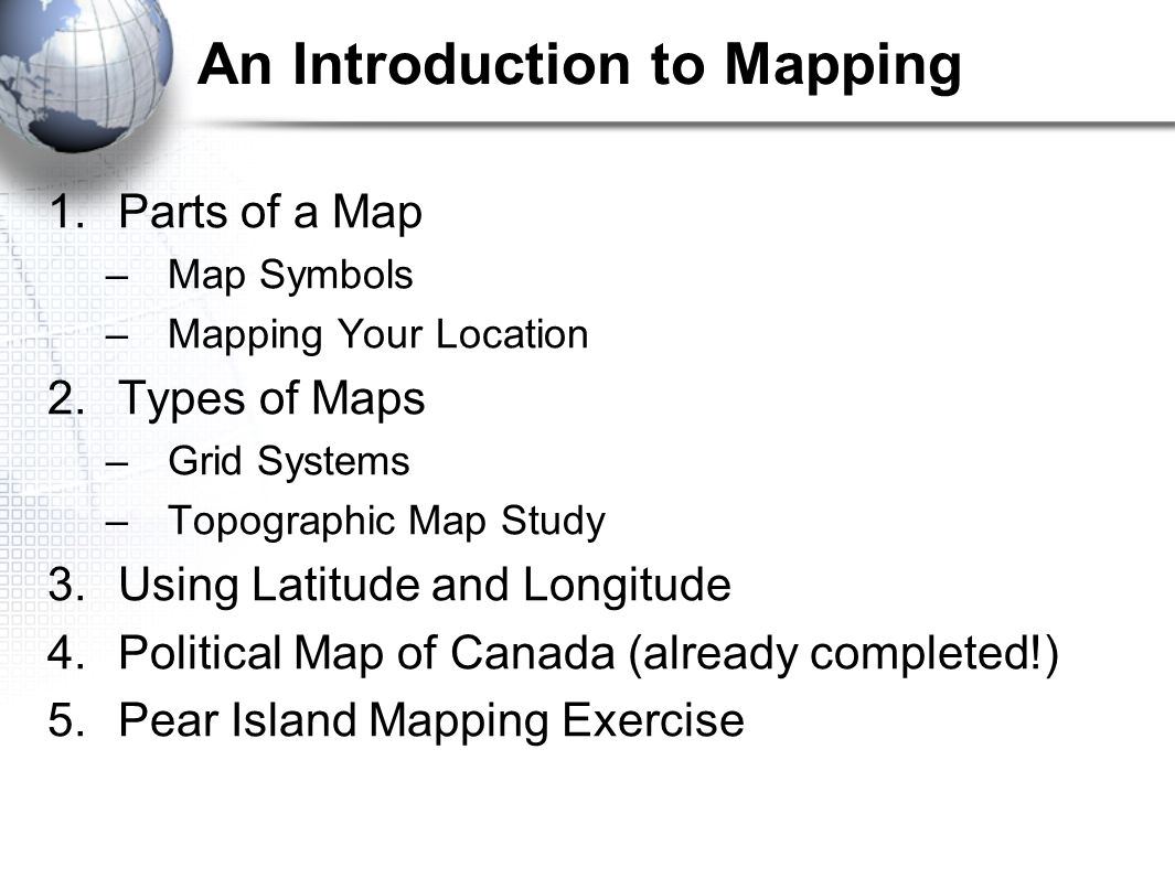 Maps the geographers basic tools ppt video online download 2 an introduction to mapping biocorpaavc