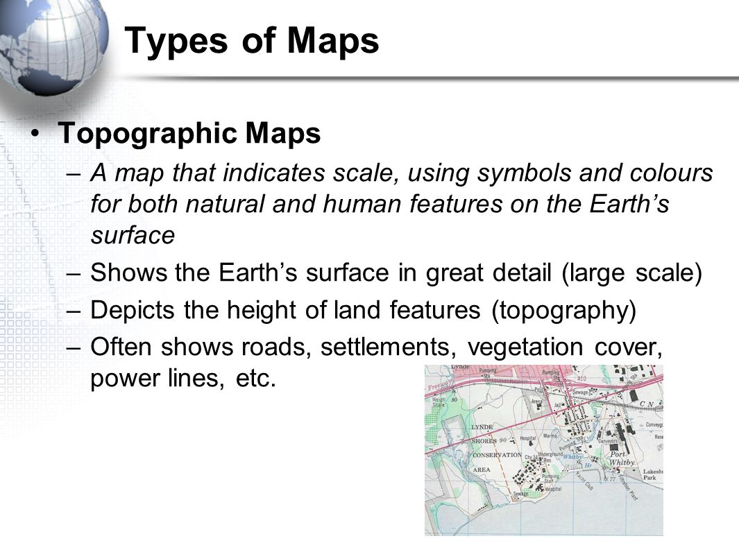 Maps the geographers basic tools ppt video online download types of maps topographic maps buycottarizona Image collections