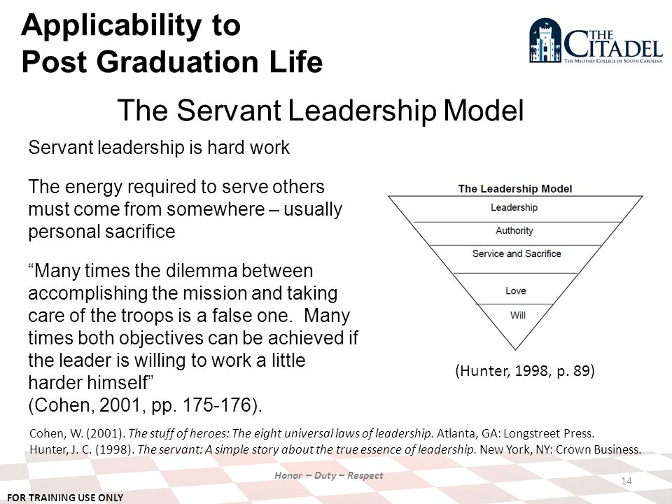 the three major characteristics of a servant leader ♦ leader's notes ♦ the 4 characteristics of a servant leader-lesson 3 page 2 the salvation army jack mcdowell school for leadership development.