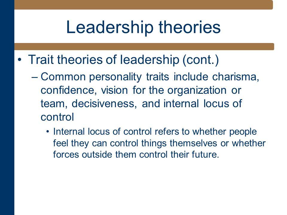 leadership trait theories gary yukl Yukl 2001, prentice hall gary yukl is professor of to define an individual's leadership likely traits and leadership theories leadership.