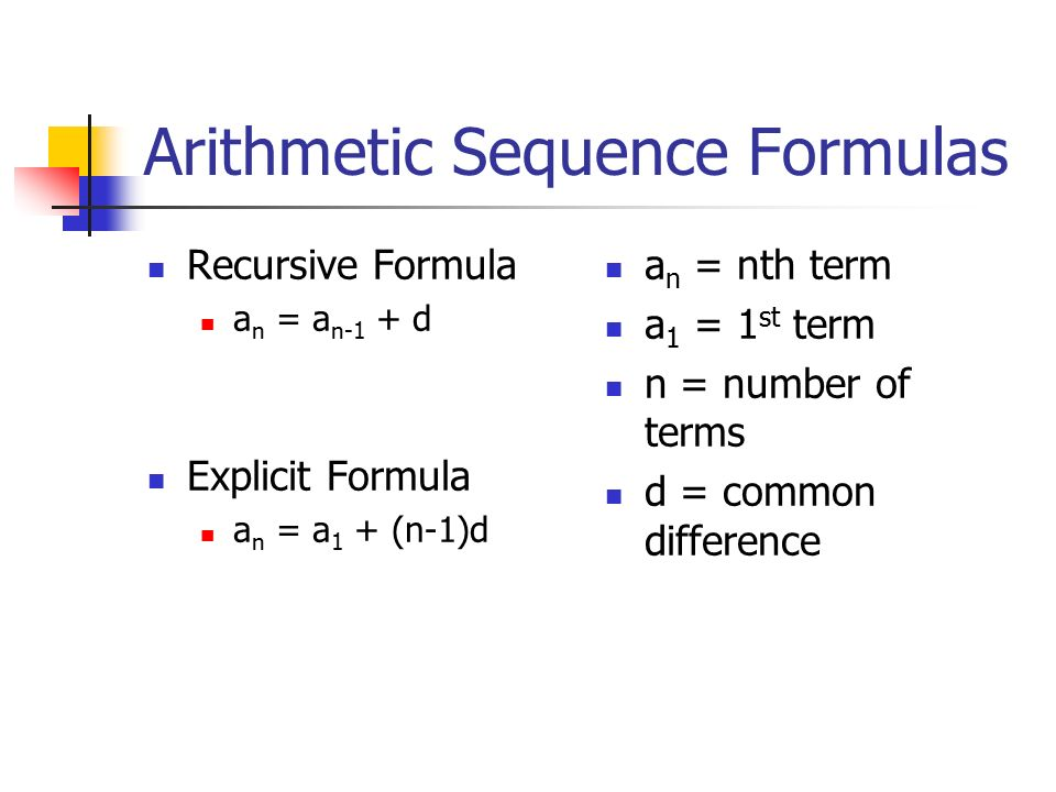Create an explicit formula