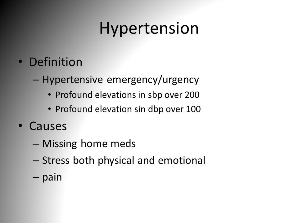 the definition and causes of hypertension Hypertension rarely causes symptoms in the early stages and many people go undiagnosed  a global brief on hypertension why hypertension.