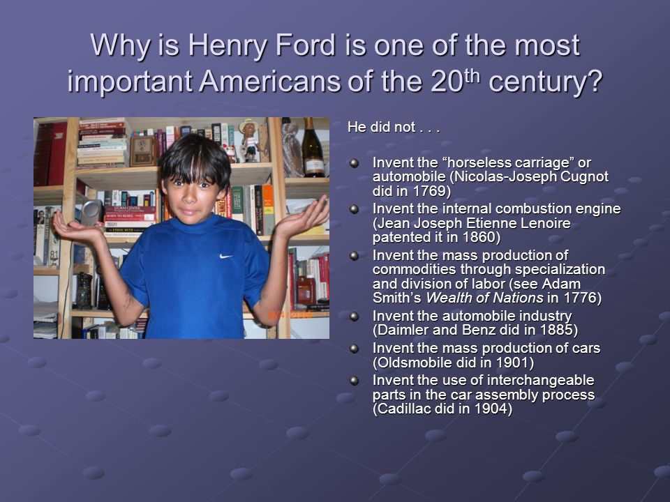 Henry Ford By Paul Yamane Ppt Download
