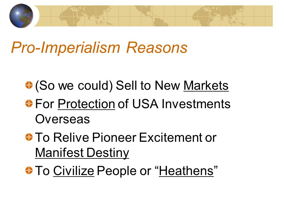 manifest destiny vs imperalism