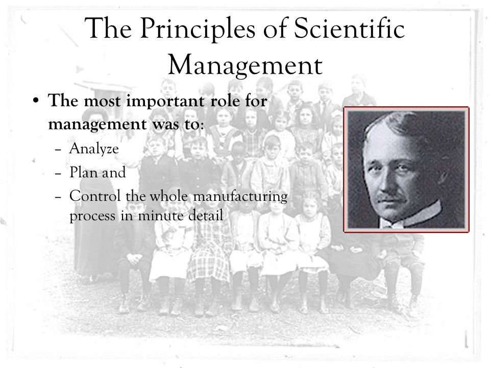 how influential is scientific management in We provide reference notes for neb high school science, management and humanities taylor's scientific management concept and his contributions - reference notes scientific management conceptscientific management concept is one of the principles of management and is also known as classical theory.
