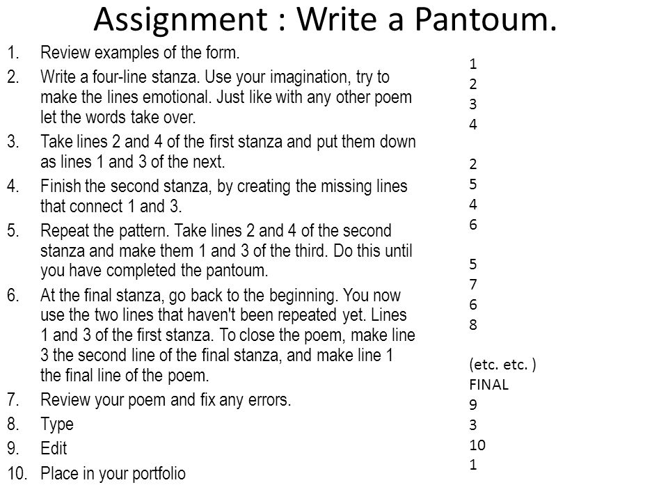 Poetry type, format, history, examples - ppt download