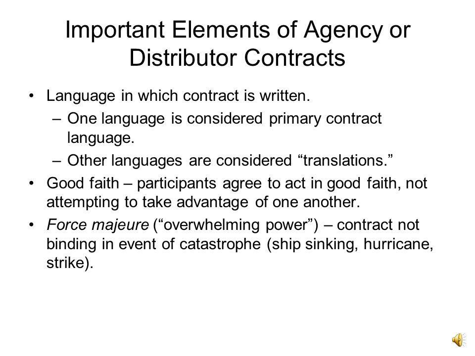 International Contracts Part Two - Ppt Download