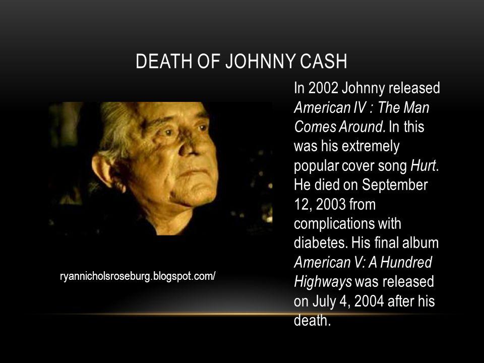 johny cash the man coms around