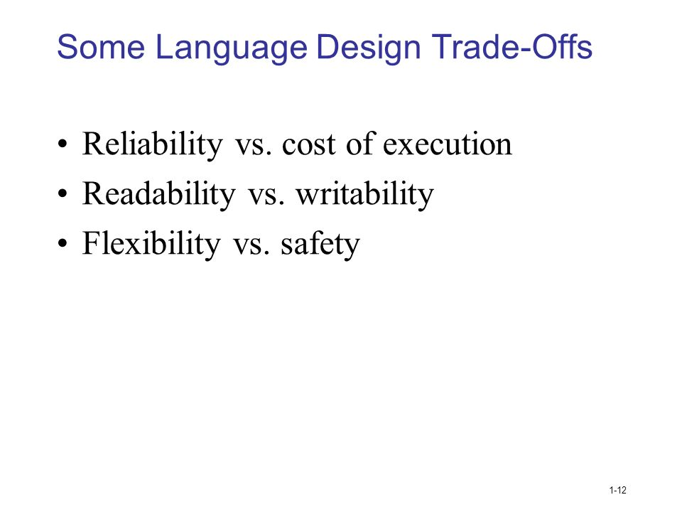how is readability important to writability I think that readability is more important than writability for a programming language code is usually written once, but read many times given that coffeescript doesn't fix any of the fundamental problems of javascript, but damages readability, i decided not to use it anymore.