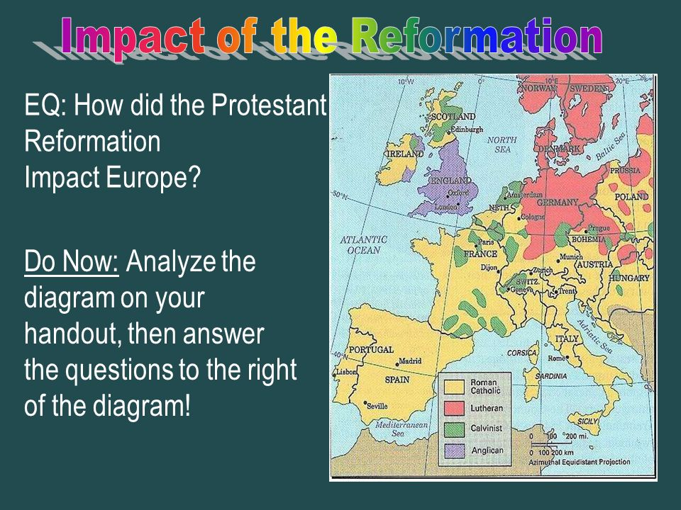 the impact of the protestant reformation in europe The role of the protestant reformation in  a weakening of the old order was already under way in northern europe,  lutheranism would have some impact on.