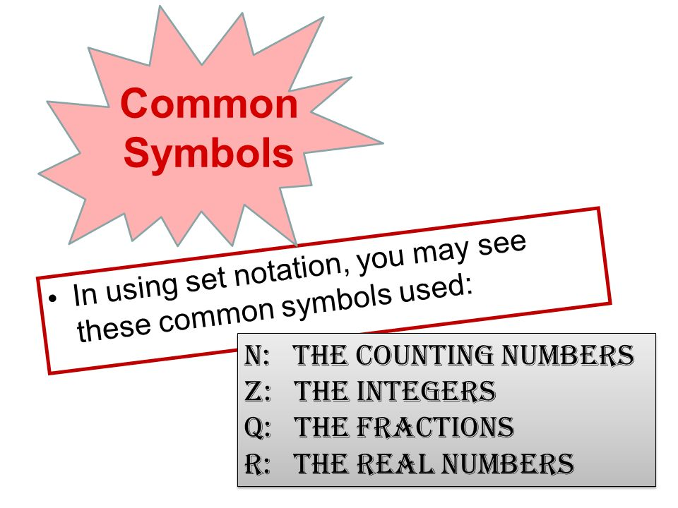 how to write set notation